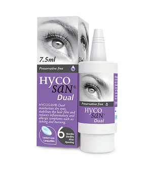 Scope Hycosan Dual Pack and COMOD Bottle