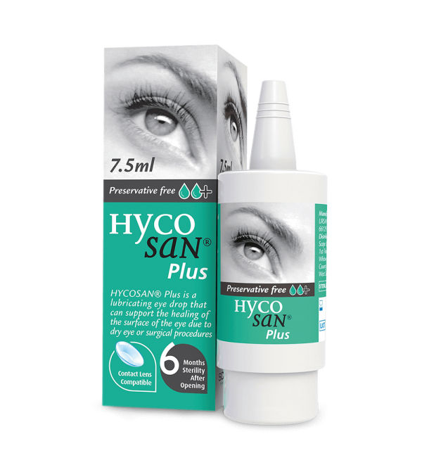 Scope Hycosan Plus Pack and COMOD Bottle